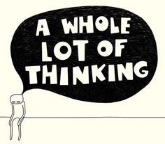 A whole lot of thinking / Iva Spasojevic