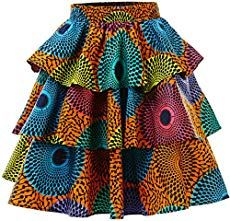 HongyuAmy Women African Print Skirt Ankara Skirts Dashiki Clothing (X-Large, Color A) African Dresses For Kids, African Maxi Dresses, Latest African Fashion Dresses, African Print Fashion, African Attire, African Wear, African Women, Ankara Mode, African Print Skirt