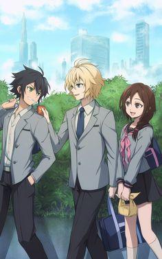 Owari no Seraph (Seraph Of The End) Image - Zerochan Anime Image Board Anime Boys, All Anime, Anime Manga, Owari No Seraph Guren, Mika Hyakuya, Desenhos Love, Familia Anime, Cosplay Anime, Film D'animation