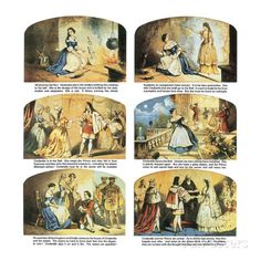 The Story of Cinderella Giclee Print by English School at AllPosters.com