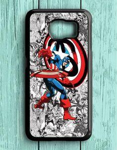 Marvel Captain America Heroes Samsung Galaxy S6 Case
