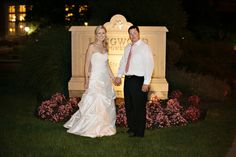 A Great Night Shot Outside! - JessFoto #aldencastle #weddings #bostonweddings