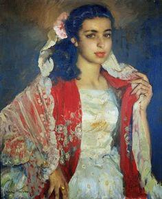 Pintura de José Cruz Herrera - Espanha