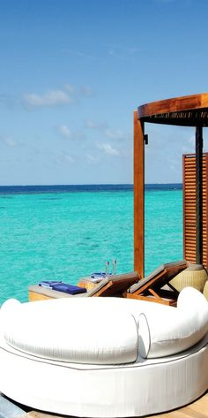 W Retreat...Maldives The place that I'd die to go to! Except, then I'd be deceased!