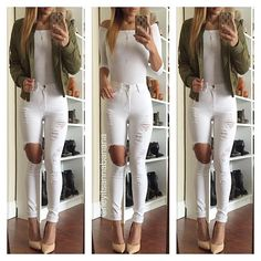 WEBSTA @ heyitsannabanana - Jacket and jeans from @fashionnova @fashionnova   www.fashionnova.com ❤️ 15% off code XOANNA #fashionnova