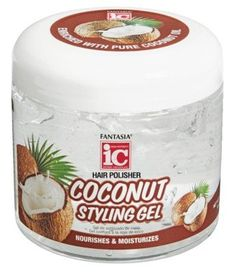 Fantasia Gel 16 Ounce Coconut Nourishes Moisturizes (473ml) *** This is an Amazon Affiliate link. Click on the image for additional details.