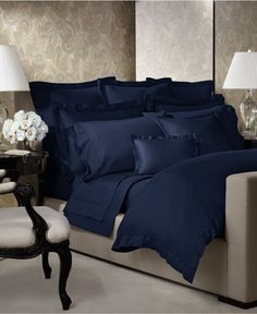 Ralph Lauren Langdon Solid Collection - Duvet Covers - Bed & Bath - Macy's