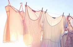 laundry on the line. i can almost smell it now!