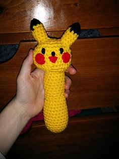 Pikachu rattle