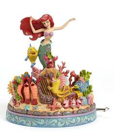 Look at this #zulilyfind! Disney's The Little Mermaid Ariel Musical Collectible Figurine #zulilyfinds
