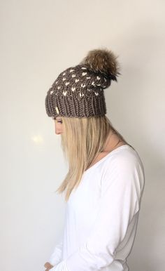A personal favorite from my Etsy shop https://www.etsy.com/listing/289481093/chunky-knit-fair-isle-slouchy-hat-with