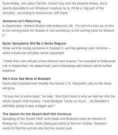 Teen Wolf Season 5 Spoilers: 10 Things We Know So Far part 2