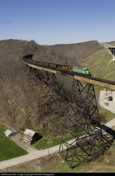 RailPictures.Net Photo: WE 6985 Wheeling & Lake Erie EMD SD40-2 at Crookham, Pennsylvania by Pitt1292 Photography