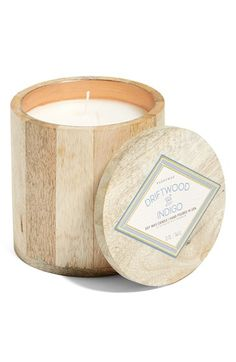 Free shipping and returns on Paddywax Driftwood & Indigo Soy Wax Candle at Nordstrom.com. A hand-poured soy wax candle in a distinctive driftwood and indigo scent provides a cozy addition to any space, while the handmade wooden container adds a touch of rustic charm.