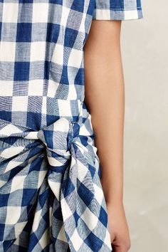 Dropwaist Gingham Dress - anthropologie.com #anthrofave