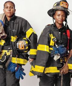 Some Smart (and brave) Girls that are changing the face of FDNY