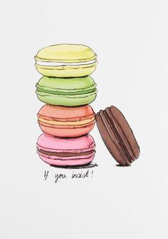 Macaroon - illustrated