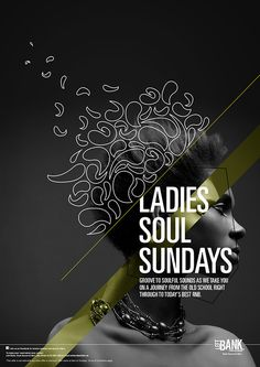 Soul Sundays at Left Bank / Music Poster on Behance
