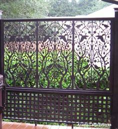 Choose from a variety of lattice fence design options to use around your front porch or yard. Vinyl lattice panels are ideal to use as a lattice privacy fence. Easy to use, almost maintenance free, PVC lattice is an ideal solution. Outdoor Screen Room, Outdoor Screens, Outdoor Rooms, Outdoor Living, Privacy Screens, Outdoor Privacy, Vinyl Lattice Panels, Decorative Screen Panels, Lattice Fence
