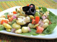Solterito Salad - Lima Bean and Corn Salad - Soterito Arequipaño