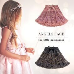 Sweet tulle skirts by Angel's Face on nickis.com
