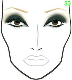 MAC Makeup Looks and Face Charts: In ModeMakeup For Life