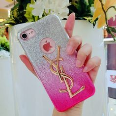 iPhoneXケース イヴサンローラン YSL iPhone8/8 プラス かわいい携帯カバー アイフォン7スマートホンケース アイフォン6s/6セレブ愛用カバー おしゃれ ピンク 女性愛用 大人気