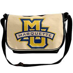 Memoy Marquette MU Logo University Men Women Shoulder Bag Vintage Travel Bag * Click on the image for additional details.