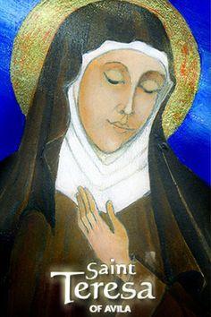 Saint Teresa of Avila Devotions, Prayers,