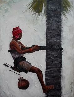 What is Your Painting Style? How do you find your own painting style? What is your painting style? Indian Paintings On Canvas, Indian Artwork, Cool Paintings, Scenery Paintings, Canvas Art, Abstract Paintings, Indian Illustration, Art Village, Indian Village