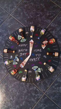 diy birthday gifts for brother Diy Geschenke Gebur - diybirthday 18 Birthday, Birthday Gifts For Brother, 16th Birthday Gifts, Birthday Presents, Boyfriend Birthday, Special Birthday, Brother Gifts, Birthday Ideas, Guys 21st Birthday