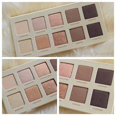 LORAC UNZIPPED GOLD EYESHADOW PALETTE SWATCHES AND PHOTOS | The Beauty Boulevard #beauty #makeup #loraccosmetics