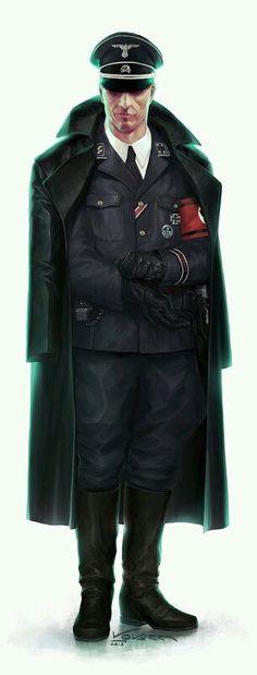 Nazi ss subay üniforması