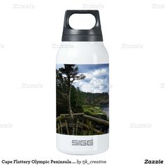 Cape Flattery Olympic Peninsula - Washington Thermos Bottle