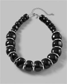 Tenia Beaded Single-Strand Necklace