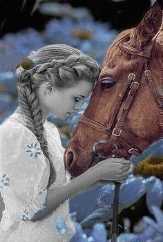 A amizade é construída  com pequenos gestos,  de carinho e amor.  __Sophia Vargas ♥ Horse Pictures, Cool Pictures, Beautiful Pictures, Beautiful Love, Beautiful Horses, Cenas Do Interior, Best Friend Images, Splash Images, Wolf Images