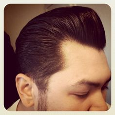 I wish I could get John to do his hair like this =(