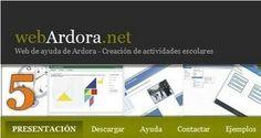 Crea contenidos escolares para la Web con Ardora