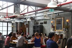 """Ponsonby central - """"This unique meeting place houses a couple of cafes, a fresh produce market, and a wide variety of cultural eating establishments.  Thai, Spanish, Japanese, Italian… whatever you fancy, you're likely to find it at Ponsonby Central.""""- http://brenoandmel.wordpress.com/2013/02/09/ponsonby-quarter/"""