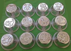 Giftshop12 Zodiac Animal Shaped Aluminum Cup Cake Muffin Pudding Pan Mold Mould Baking Set of 12 Pieces By Giftshop12 * Click image for more details.