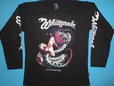Whitesnake - Love Hunter T-shirt Long Sleeve size L Lovehunter