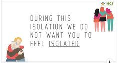 During this isolation, we do not want you to feel isolated. HCI family is always there for you to keep you company. Special thanks to Dr Jacob, Joint CEO, fo. Nursing Courses, Feeling Isolated, Stay Safe, Poetry, Thankful, Student, Feelings, Recipe, Creative