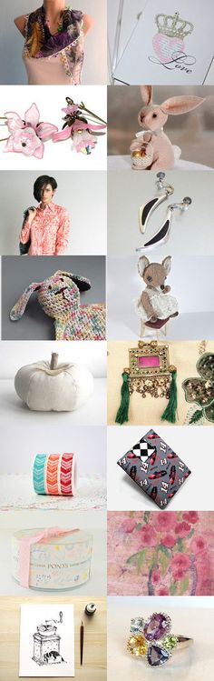 Blush by Roy Itzhack on Etsy--Pinned with TreasuryPin.com