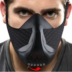 Sport Workout Training Mask High Altitude Elevation Effects Cycling Face Mask Bike Bicycle Running Training Fitness Gym The Effective Pictures We Offer You About Face Mask aloe vera A quality picture Exercise Fitness, Breathing Mask, Cool Masks, Workout Accessories, Fitness Accessories, Bike Run, Health And Wellbeing, Mask Design, Gym Workouts