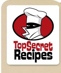 Todd Wilbur gives you recipes that are identical to the ones from popular restaurants