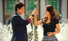 Shah Rukh Khan and Kajol - Dilwale Kajol Dilwale, Dilwale 2015, Shahrukh Khan And Kajol, Bollywood Couples, Bollywood Stars, Srk Movies, Rohit Shetty, Movie Couples, Full Movies Download