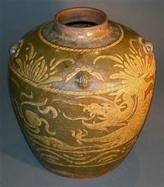 Handmade Chinese antique hanging dragon ceramic pottery pot jar    http://www.busaccagallery.com/catalog.php?catid=126&itemid=3228&page=1