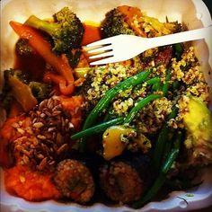 The Green Door - vegetarian broccoli stir fry, green beans, quinoa salad , sushi. Great vegetarian restaurant to try. Tofu Broccoli Stir Fry, Canada Lifestyle, Stir Fry Green Beans, Ottawa Canada, Quinoa Salad, Sushi, Vegetarian, Restaurant, Chicken