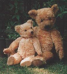 Chiltern Hugmee teddy bears, 1930's