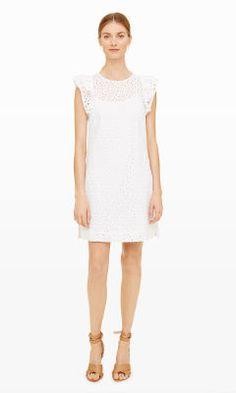 Womens   Nadeer Eyelet Dress   Club Monaco